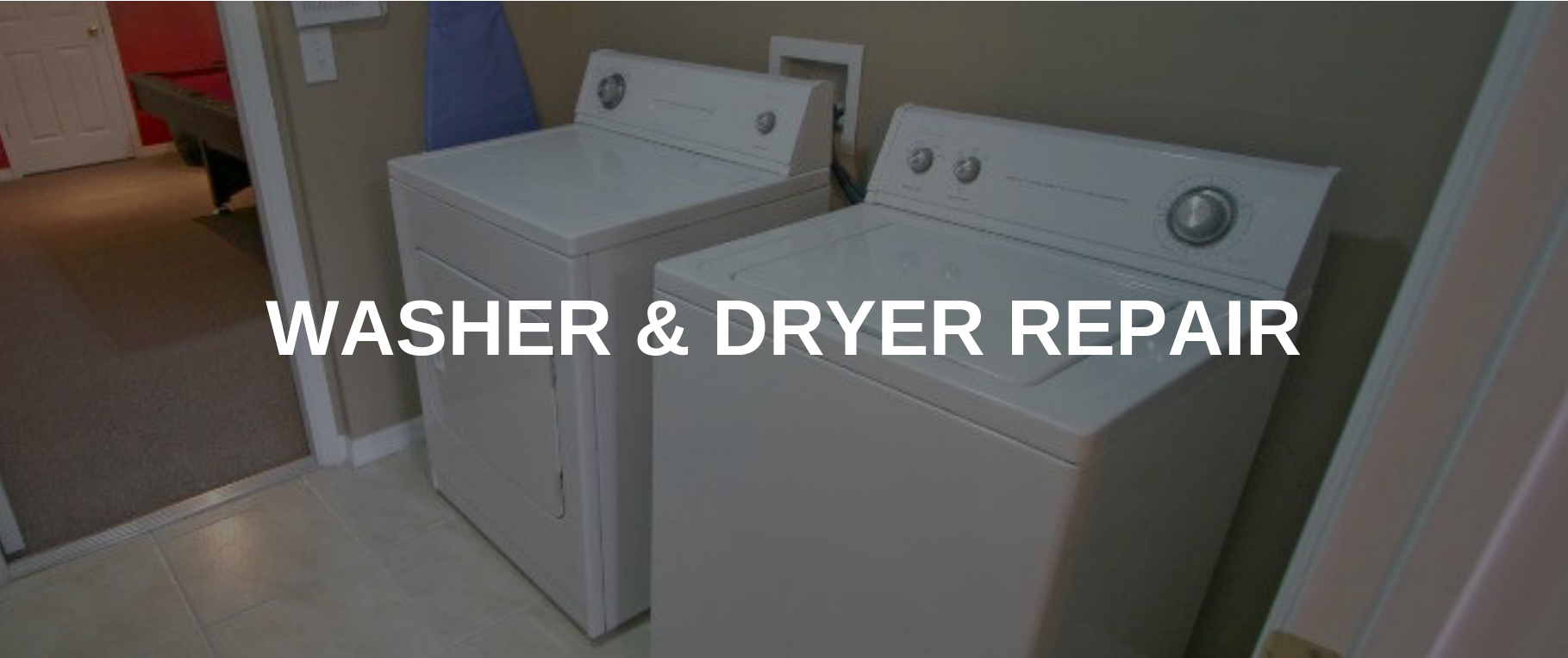 washing machine repair middletown