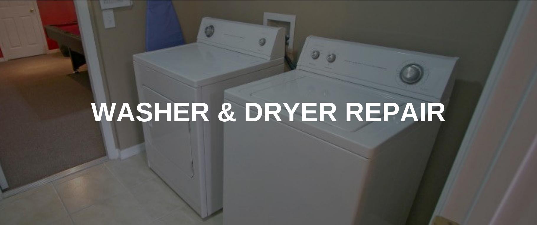 washing machine repair middletown